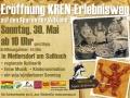 Einladung zur Eröffnung des Sarossa Kren Erlebnisweg